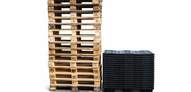 Aus materialfluss 10/2019: Weniger Holz ist Meer