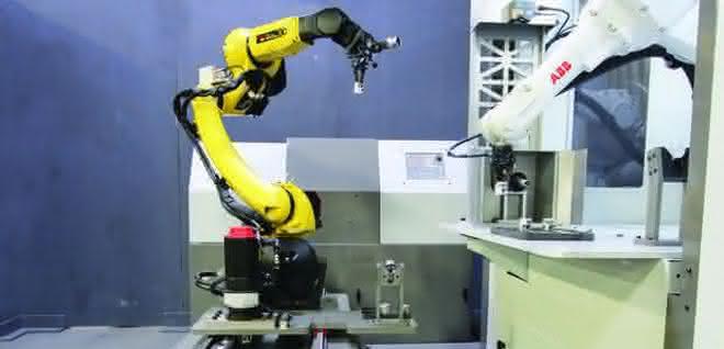 Roboter-Transfereinheit