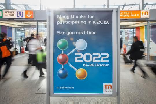 Die 2019 ist beendet, die K2022 findet wieder in Düsseldorf statt.