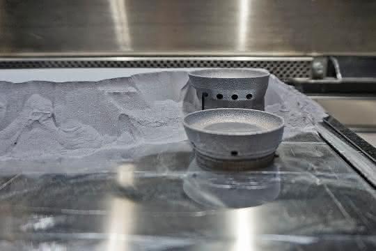 Mit dem Metall-3D-Drucker können Bauteile direkt und ohne große Vorbereitungszeit gefertigt werden.