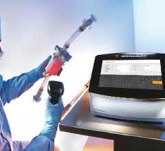 The advanced filter tester Sartocheck® 5 Plus has been designed to cover the complete range of integrity testing from small syringe filters up to large multi-round housings and crossflow cassettes.