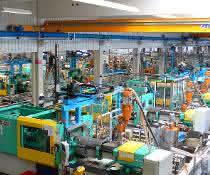 Blick in die Produktion.