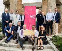 Freude bei den Beiräten und beim Cluster-Management über die erneute Gold-Label-Auszeichnung des Kunststoff-Clusters
