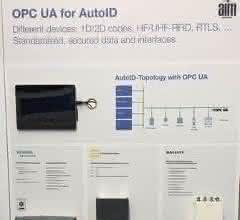 OPC UA für verschiedene Auto-ID-Technologien