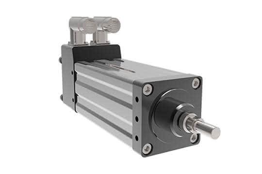 Motor/Aktuator: Integrierter Ersatz für Hydraulikzylinder