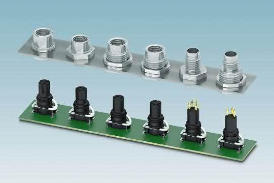 Rundsteckverbinder: Verbinder für Ethernet und Profinet