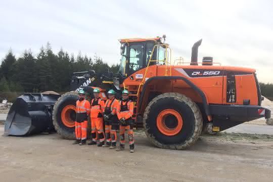 Rund 100 neue Radlader: Doosan erhält Radlader-Großauftrag von Cemex