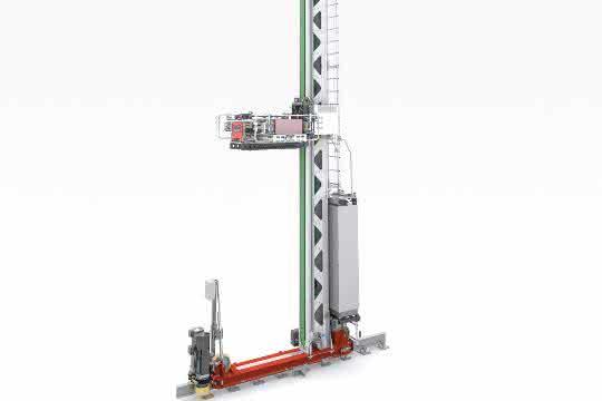 Neues Modell: TGW präsentiert neues Regalbediengerät