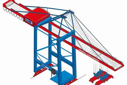 Zusätzliche Kapazitäten: Drei neue Containerbrücken für Hamburger Hafen