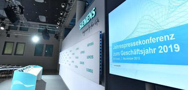 Siemens Bilanzpressekonferenz
