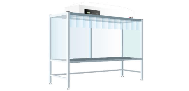 Reinraum-Werkbank: Sauber gefertigt