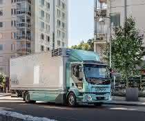 City-Logistik: Volvo Trucks startet Vertrieb von Elektro-Lkw für die Stadt