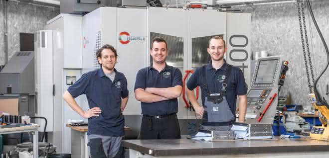 Werkzeugmaschinen: Präzise Bearbeitung auf 5-Achs-Bearbeitungszentrum