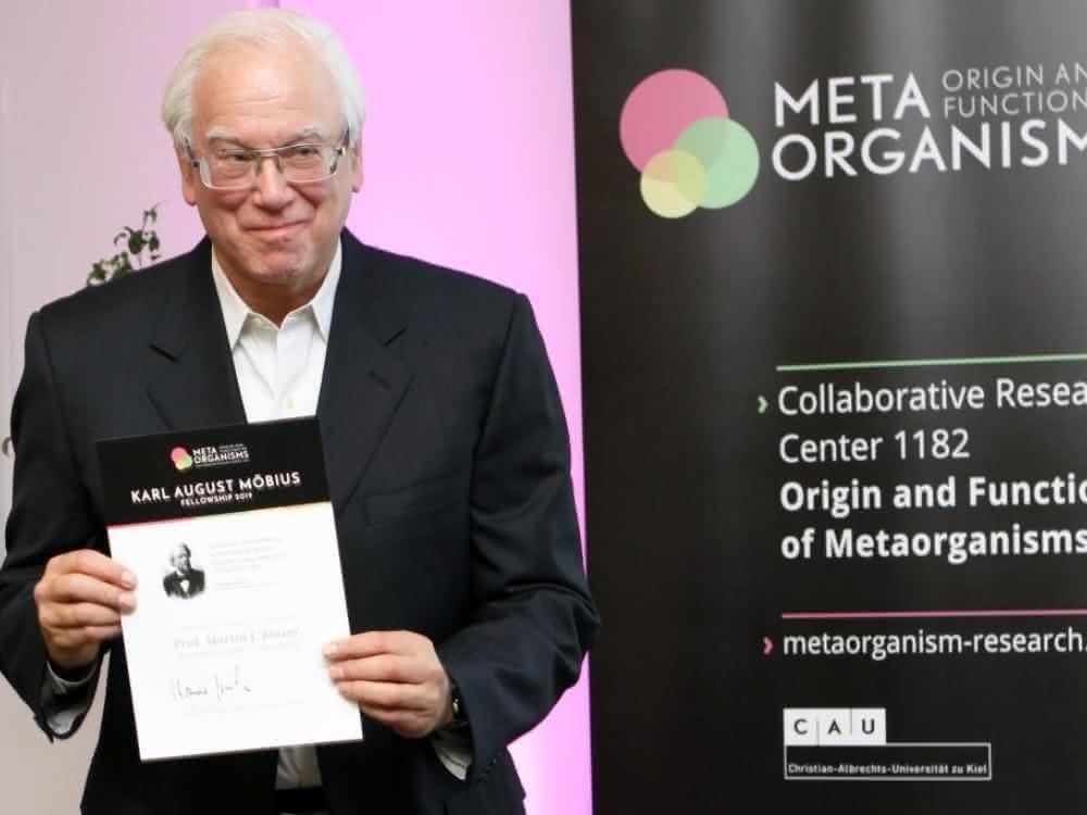 Prof. Martin J. Blaser von der Rutgers University ist der Möbius-Fellow 2019 des Kieler Sonderforschungsbereich 1182.
