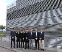 Das Team von HSG Laser zu Besuch in der Lantek-Unternehmenszentrale