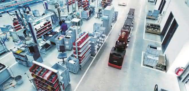 Vernetzte Intralogistik: Mit WMS und MES zur Smart Factory