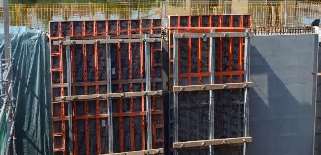 Schalung: Schleusensanierung am Neckar mit Paschal