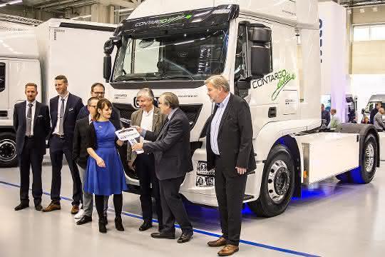 E-Mobilität: Zwei neue E-Lkw für Contargo