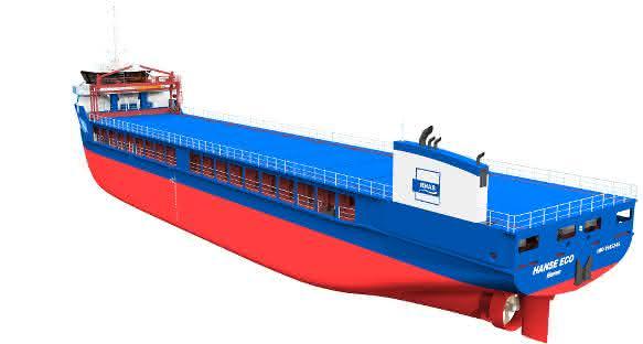 Rhenus-Arkon-Shipinvest gibt vier Eco-Schiffe in Auftrag