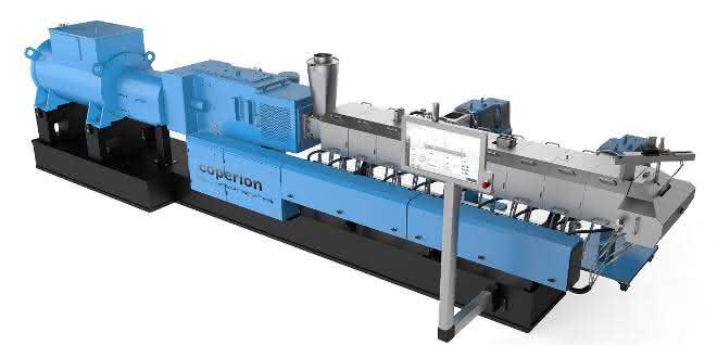 Die Ausrüstung dieses Doppelschneckenextruders soll das Handling verbessern und die Effizienz beim Compoundieren und Recyceln steigern.