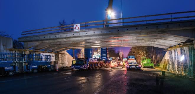 Fertigteilbauweise im Brückenbau