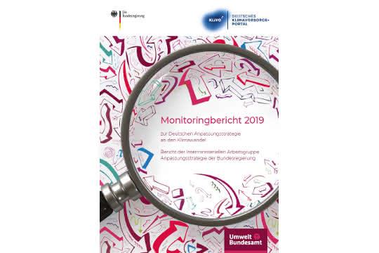 Titelseite des Monitoringberichts 2019