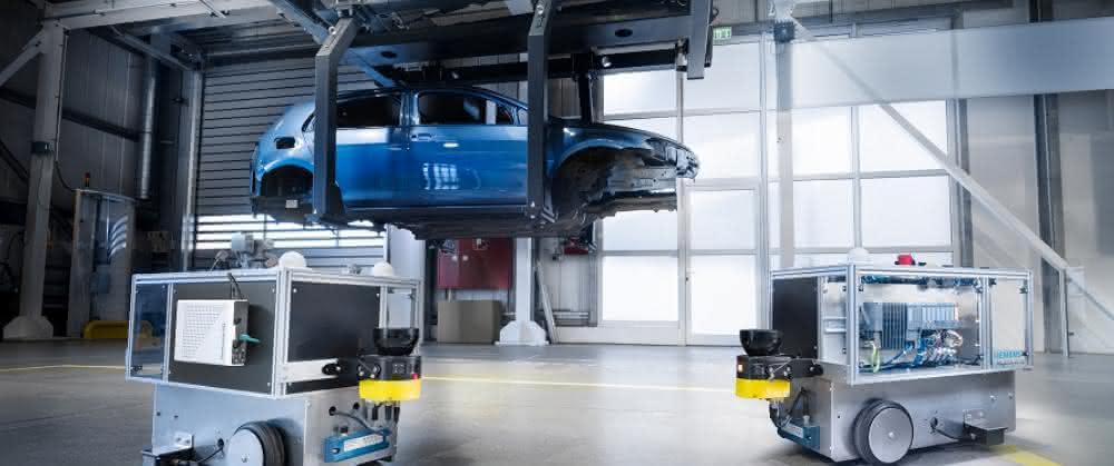 Automotive Showroom und Testcenter