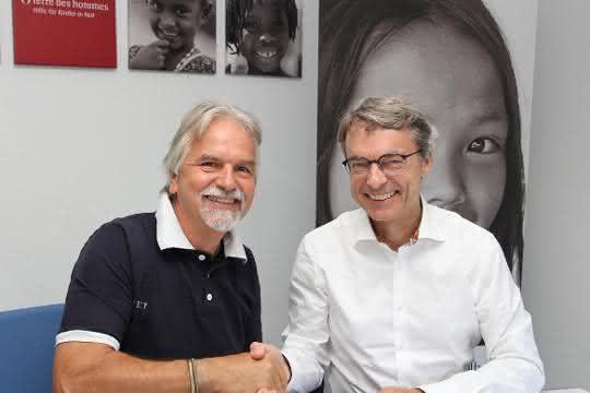 Kooperation ausgebaut: Dachser und terre des hommes erweitern Zusammenarbeit