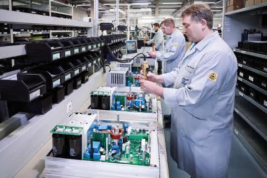 Digitalisierung der Produktion