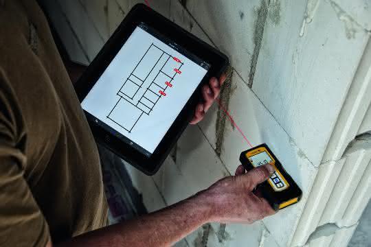 Laser-Entfernungsmesser: Einfach messen, kabellos übertragen