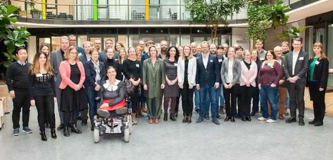 Kickoff-Meeting des imSAVAR-Projektkonsortiums am 2. Dezember 2019 am Fraunhofer IZI in Leipzig.