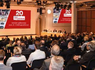 TEAMLogistikforum feiert 20. Jubiläum mit über 500 Teilnehmern
