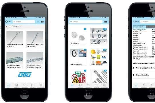 Baustellen-App von Facilityworld