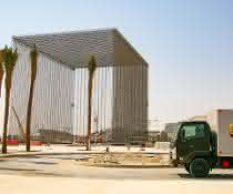 Multimodale Auslieferung: UPS liefert größte internationale Frachtsendung zur Expo 2020