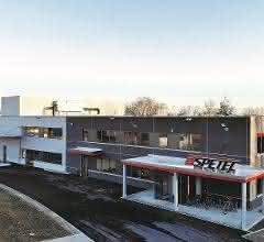 Ansicht neues Firmengebäude
