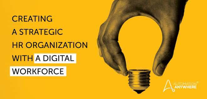Aufbau einer strategischen Personalabteilung mit einer Digital Workforce