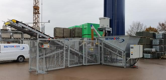 Beton-Hersteller: Beton2Go liefert die 60. Betontankstelle 2019 aus