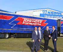 Toni Hotz Transporte ab sofort mit weiterem Giga Liner unterwegs