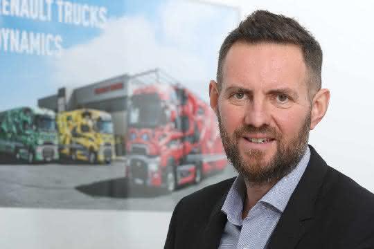 Frederic Ruesche leitet Renault Trucks in Deutschland