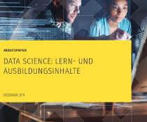 """Titelseite des Arbeitspapiers """"Data Science: Lern- und Ausbildungsinhalte"""""""