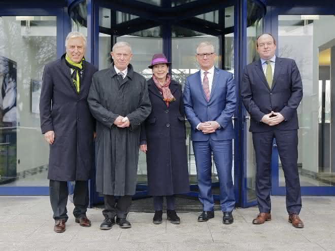 Horst Köhler besuchte Duisburger Hafen
