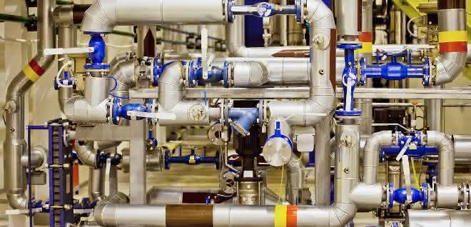 Produktions- und Chemieanlage