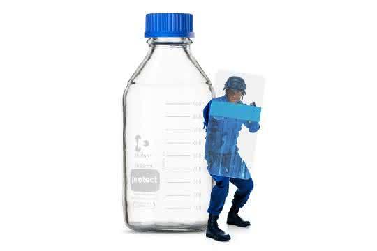Beschichtete Laborglasflaschen: Schutz wertvoller oder gefährlicher Substanzen