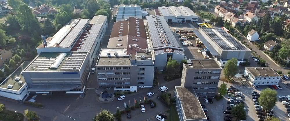 Dieffenbacher: Unternehmenssitz in Eppingen.