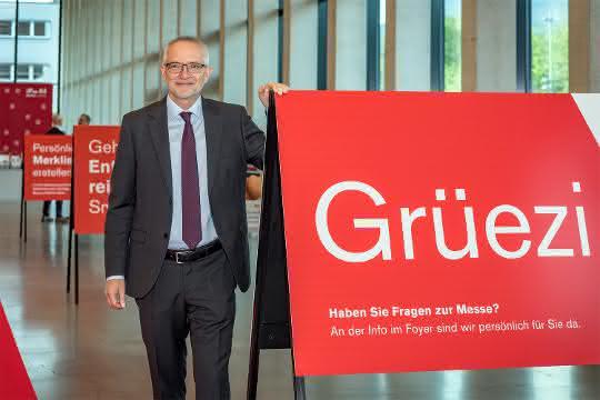 René Ziswiler ist Leiter der Messe Luzern.