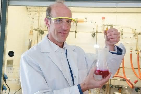 Nils Metzler-Nolte im Labor