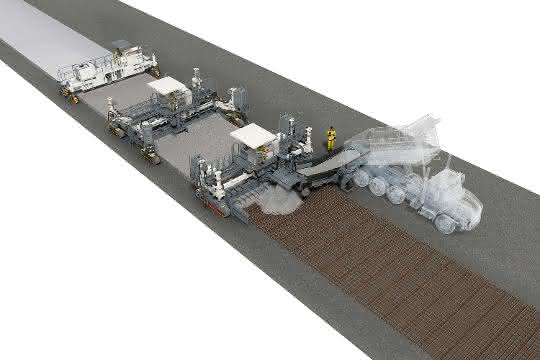 Wirtgen Group mit Premieren auf der World of Concrete 2020
