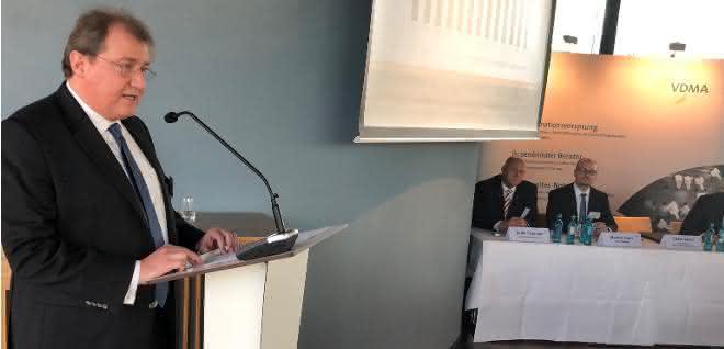 Stefan Zecha, Vorsitzender VDMA Präzisionswerkzeuge
