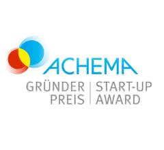 Logo Achema Gründerpreis