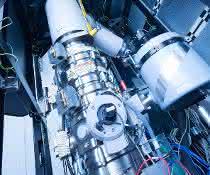 Ausschnitt der Innenansicht des einmaligen Mikroskops SALVE an der Universität Ulm